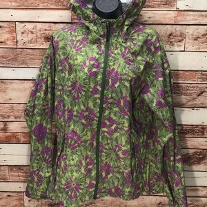 The North Face rain jacket medium hoodie K712